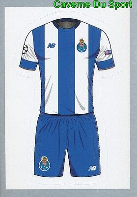 440 Home Kit Shirt Fc Porto Sticker Champions League 2016 Topps