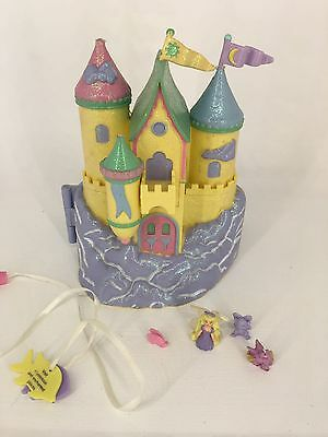 Vintage 94 Polly Pocket Trendmasters Starcastle - Yellow - IN THE CLOUDS