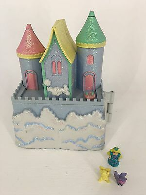 Vintage 94 Polly Pocket Trendmasters Starcastle - Blue - IN THE CLOUDS