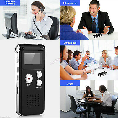 8G OZ for Digital Audio Voice Recorder MP3 Player USB Dictaphone Rechargeable AU