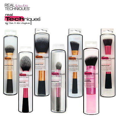 Hot Real Techniques Makeup Brushes Foundation Powder Starter Blush Expert Face
