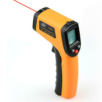BENETECH® Temperature Gun Non-contact LCD Digital Laser Infrared IR Thermometer