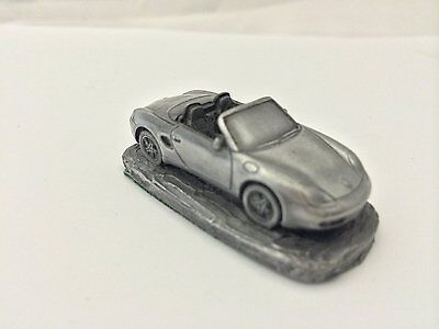 Porsche Boxster ref192 Pewter Effect 1:92 Scale model car