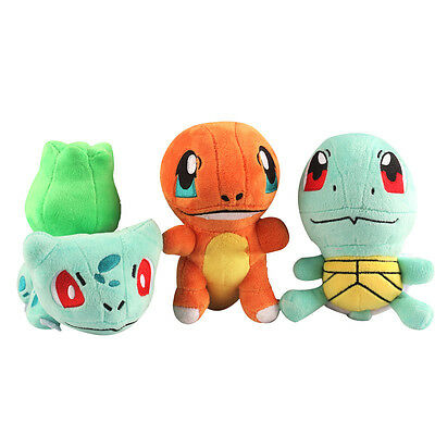 Pokemon Esche Ketchum Bulbasaur Charmander Squirtle Aktion Figuren Anime Film- & TV-Spielzeug
