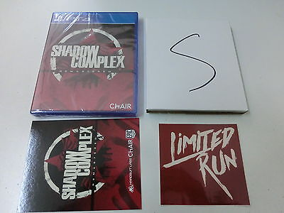 Shadow Complex Remastered + Soundtrack CD - Limited Edition für PS4 neu!!