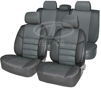 MAZDA 6 2002-2007 SEAT COVERS Jacquard and leatherette
