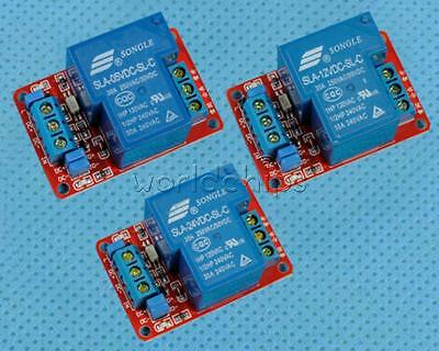30A 5V 12V 24V 1-Channel Relay Module Board With Optocoupler H/L Level Triger