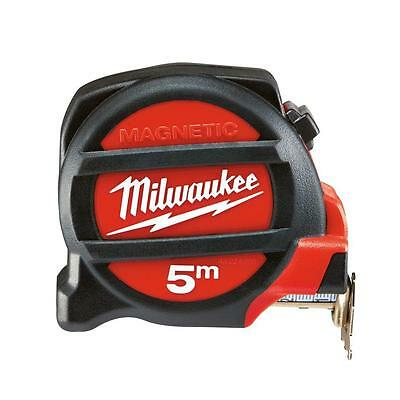 Milwaukee 5 M Magnetic Tape Measure Nylon Bond Blade Protection