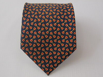 100% Pura Seta Silk Tie Seta Cravatta Made In Italy  A6099