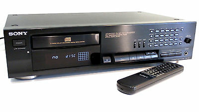 SONY CDP-761 Compact Disc Player CD-Player mit Fernbedienung