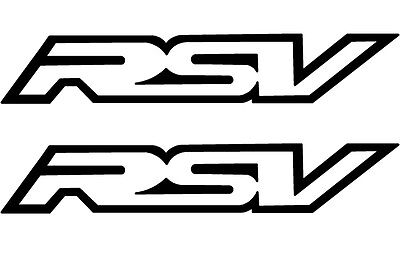 Aprilia Rsv Mille Sticker Decal Badge Emblem Fairing Vinyl - Various Colours
