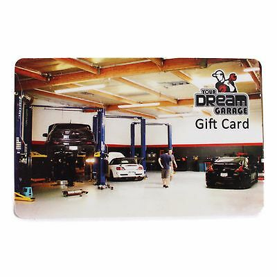 Your Dream Garage Los Angeles Do It Yourself Garage Gift Card Certificate $100 A