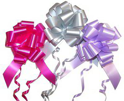 Large Ribbon Pull Bows For Wedding Decoration Floral Creations Gift Presents