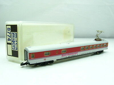 Marklin Z Miniclub 8774 DB Restaurant Coach Red/Grey - BOXED - ZBC22M