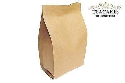 1x 100g Foil Lined Kraft Paper Bag Tea Coffee Natural packaging Spices Herbs etc