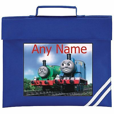 Personalised Thomas The Tank/Percy School BOOK BAG. Colour Choice.