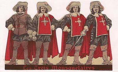 Paris 1933 French Film Advert 3 Musketeers Mousquetaires 1st Sound Version VG