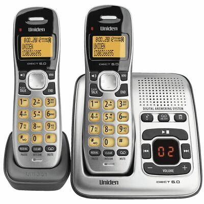 Uniden Cordless Phone with 2 Handsets 1735+1