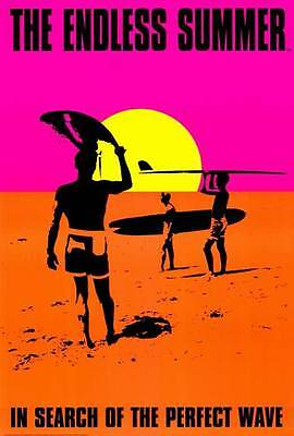 """THE ENDLESS SUMMER Movie Poster [Licensed-New-USA] 27x40"""" Theater Size (1966)"""