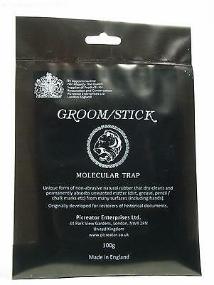 Groomstick Paper Cleaner. Unique and Non-abrasive.