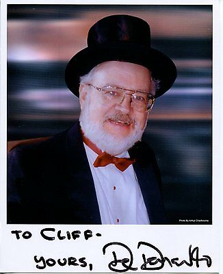 Dr. Demento Novelty Song King Comedian National Radio HOF Signed Autograph Photo