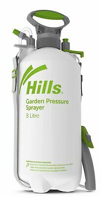 Garden Sprayer Hills 8L Chemical and Garden Pressure Sprayer 2 Nozzles