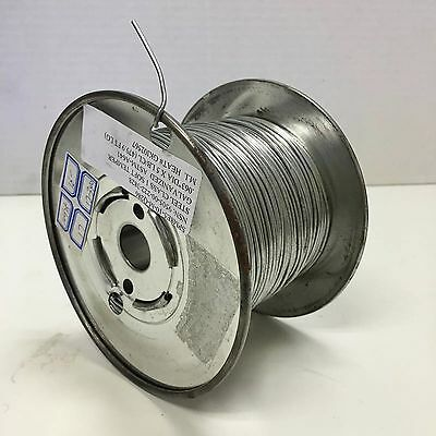 New A Spool of 5lbs Galvanized ASTM A641 14 Gauge Wire