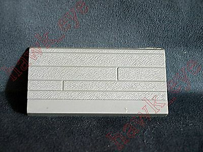 Plasticville Large Gas Station Sign White Top Cap HTF O-S Scale