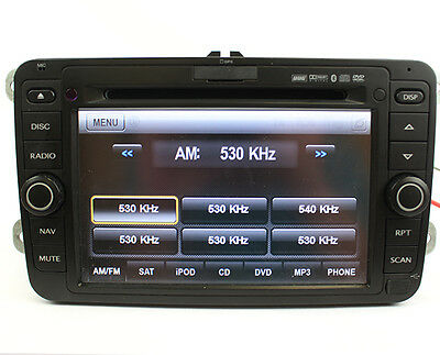 Rosen Navigation GPS Receiver iPod DVD Player for Volkswagen 2006-2011 GTI