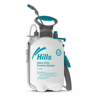 Hills 5 Litre Industrial Garden Sprayer Heavy Duty 5L Garden & Chemical Sprayer