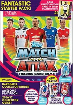 MATCH ATTAX 2016/2017 Starter Pack - In Stock