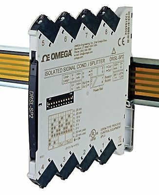 Isolated DIN Rail Signal Conditioner/Splitter for Process Signals Omega DRSL-SP2