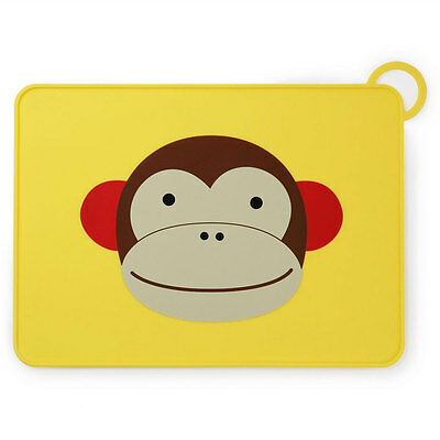 NEW Skip Hop Fold & Go Silicone Placemat - Monkey