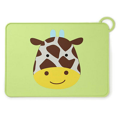 NEW Skip Hop Fold & Go Silicone Placemat - Giraffe