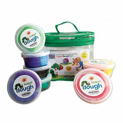 NEW The Very Hungry Caterpillar Super Dough of 8 Tubs Set