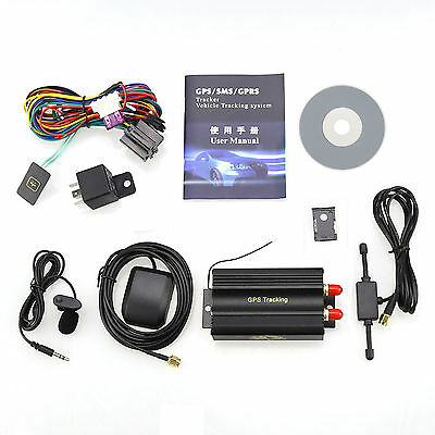 TK103A Vehicle Car GPS/GSM/GPRS/SMS Tracker Reatime Phone/WEB LINK/Map  LOT F7