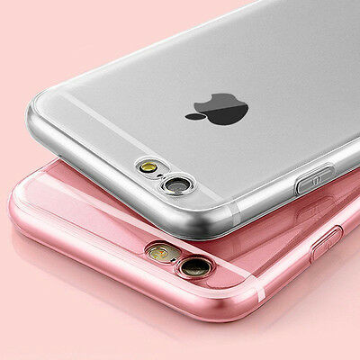 Ultra Thin Shockproof Hybrid Rubber TPU Case Cover For Apple iPhone 6 6s Plus