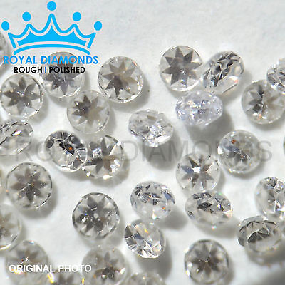 100% Natural Loose Round Single Cut Real 50 Diamonds 0.28crt SI D-H, VG, 1.15MM