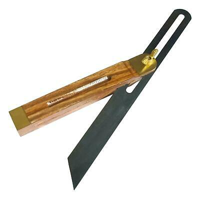 """New 10.5"""" Hardwood Sliding Bevel with Brass Inlay Fittings Carpentry Tool"""
