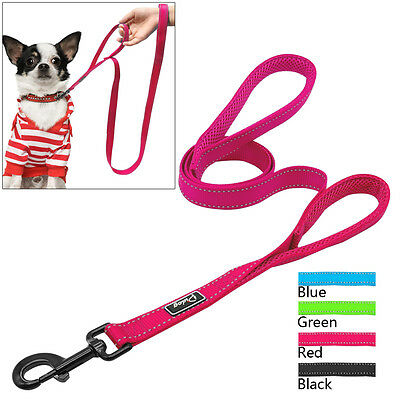 Reflective Dog Lead Training Long/Short Control Leash with Traffic Padded Handle