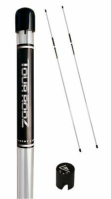 Tour Rodz White Golf Alignment Sticks. Excellent Golf Putting Practice Aid