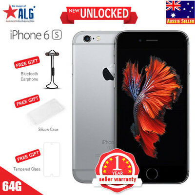 New Apple iPhone 6S 64GB Smartphone Mobile Phone Gray Unlocked in Sealed Box