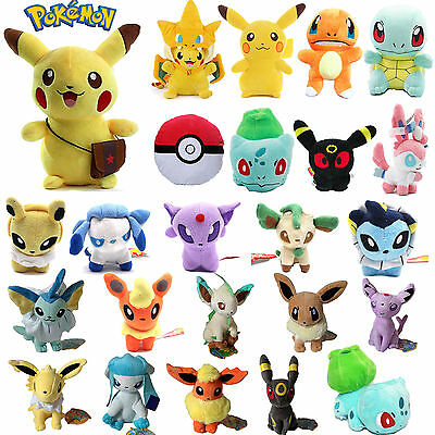 Pokemon Go Pikachu Squirtle Bulbasaur Charmander Plush Stuffed Dolls Soft Toy