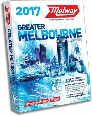 MELWAY 2017 Melbourne Street Directory Edition 44 - NEW