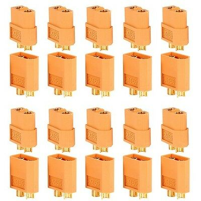 CON-BLT-2 Bullet connector 2 circuit 40A pack of 10 pairs