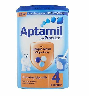 Aptamil with Pronutra+ Growing Up Milk 4 2-3 years 800g  (( TWO PACKS ))