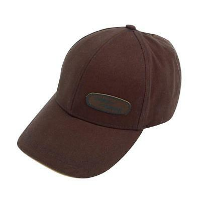 Genuine Land Rover Gear Heritage Waxed Cotton Baseball Cap Hat - Brown