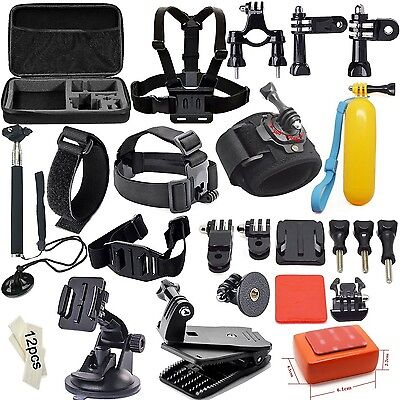 Soft Digits Accessories Kit for GoPro Hero4 Session Hero1 / 2 / 3 / 3Plus / 4...