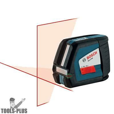 Bosch Tools Self-Leveling Cross-Line Laser w/Pulse GLL2-50 New