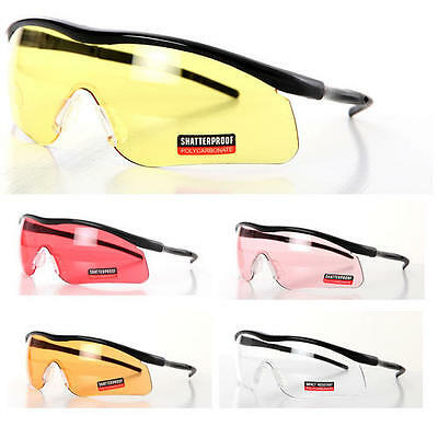 New Impact Coloured Lenses Shatterproof Sports Shooting Sunglasses Glasses